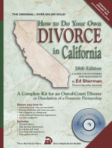 Do Your Own Divorce in CA