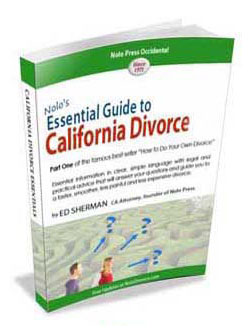 NOLO's Essential Guide To California Divorce