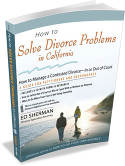 How to Solve Divorce Problems in California