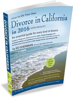 How To Do Your Own Divorce in California